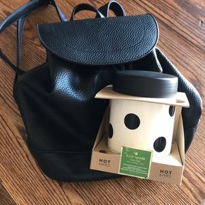 Kate Spade and Bass leather Backpack